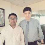 PRAN-RFL-GROUP 会長 Mr. Ahsan Khan Chowdhury・絵本「忘れない 3.11 生きて・・・」「とどけ、みんなの思い 放射能とふるさと」プロジェクトリーダー Mr. Mahadi Hasan